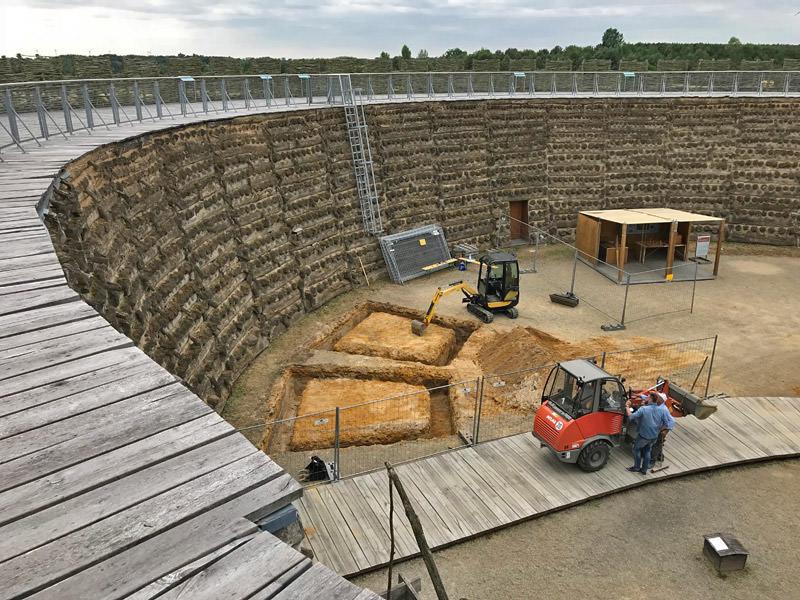 Bauvorhaben Slawenburg Raddusch